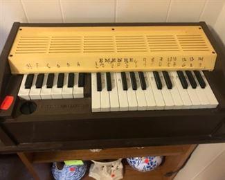 vintage Emenee organ