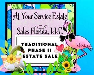 PHASE II- Traditional Indoor & Outdoor Estate Sale