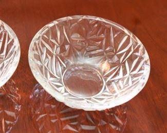 "ITEM 24: Pair of Tiffany & Co. crystal 6"" bowls $30"
