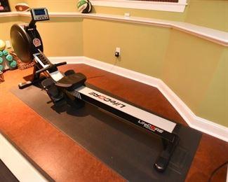 ITEM 44: Like-New Lifecore R100 Rowing Machine  $550