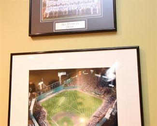 ITEM 48: All Fenway Team Photo & Aerial View of Ballpark $40