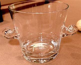 ITEM 81: Tiffany & Co Scroll Handle Ice Bucket  $35