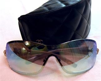 ITEM 87: CHANEL Wrap Camellia Sunglasses  $125