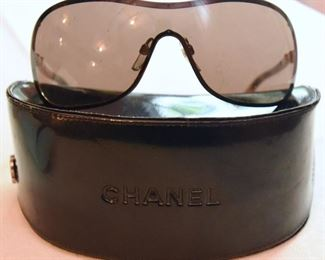ITEM 91: CHANEL Brown Shield 4170-H Collection Perle Sunglasses $150