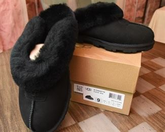 ITEM 99: Uggs Coquette Slippers, Women's Size 9, New in box  $75