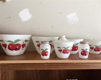 apple bowls set