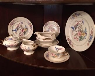 "Service for 6 plus serving pieces- ""Phoenix "" pattern.  Very pretty! $300 for all"