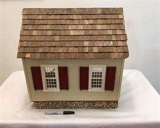 Two Room Dollhouse $40