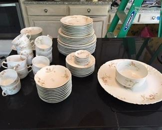 72 pc Limoges China service $165