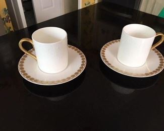 Pair of Espresso Cups by Mark Jacobs for Waterford $15