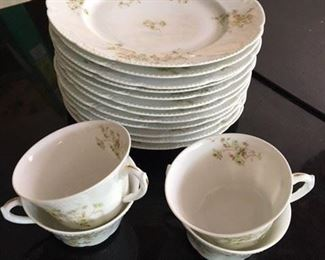 35 Piece Limoges Luncheon Service $58