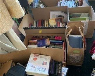 DVDs, Children's Books, Gardening Reference Books, Spiritual Books, Novels, Biographies and so much more; Hardbacks $2 each; Soft back books $1 each