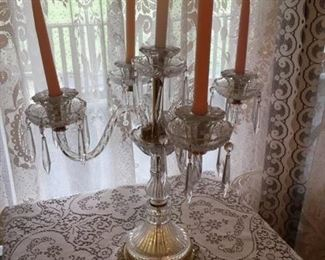 great crystal candelabra