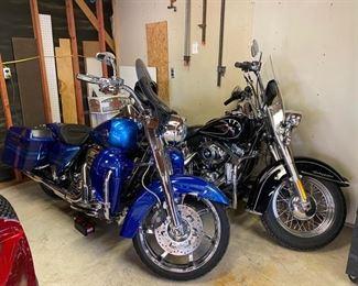 2009 & 2013 Harley Davidson