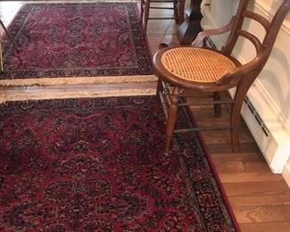 Antique hand knotted wool rugs