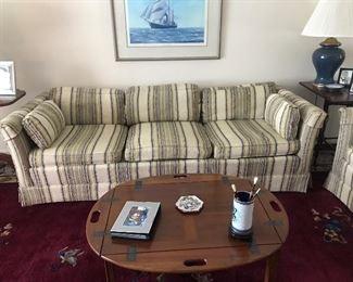 Vintage Drexel sofa and loveseat