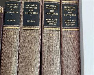 Michigan Through the Centuries by Dunbar