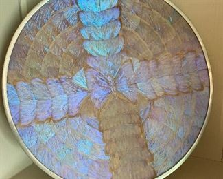 Mid Century modern butterfly wing tray