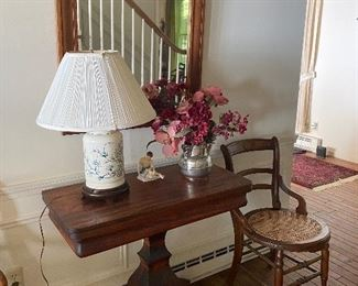 Beautiful antique Empire mahogany game table