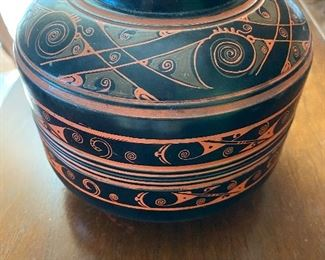 Antique Chinese lacquered rice bowls