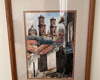 Watercolor by Figueroa