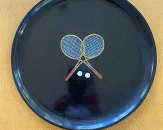 Vintage Courac tennis tray