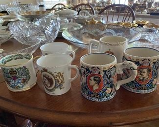 Antique coronation cups