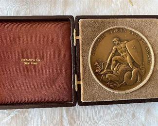 "Tiffany and Co. ""American Cancer Award"""
