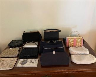 Evevintage evening bags - Saks Fifth Ave, and others