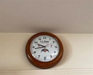 LL Bean weather station clock