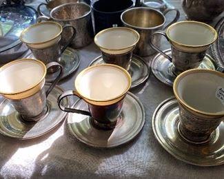 Lenox demitasse cups - Sterling