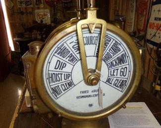 Heavy Brass Ships Telegraph