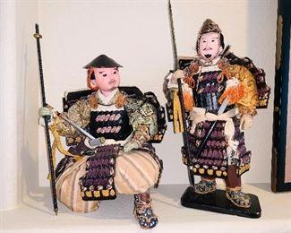Antique Samurai purchased from Kona, Japan