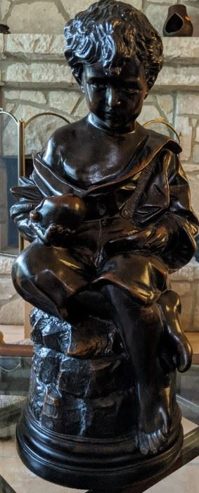 Statue of Boy