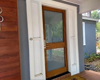 HIGH-END MAIN ENTRANCE DOOR WITH EMTEK HARDWARE