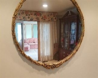 3 foot diameter mirror $150