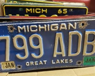 Misc. License Plates