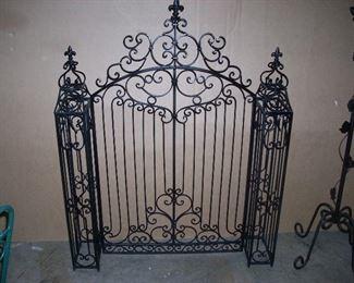 Wrought Iron Decorative garden gate