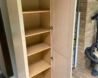 Great storage inside cabinet!