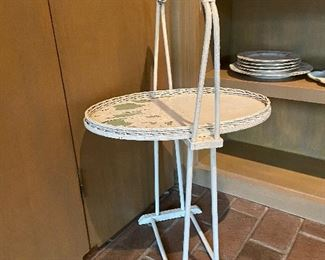 Antique plant stand.
