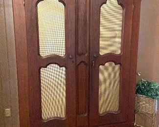 HUGE armoire with a surprise inside.
