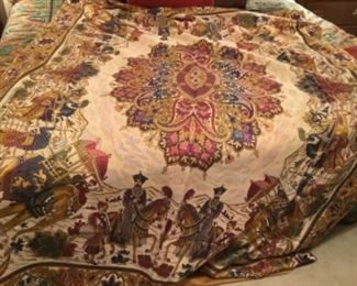 "$175 tapestry 1960's - need rod slip thru for hanging 84""T x 62""W"