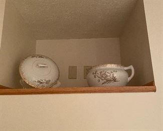 Antique chamber pot