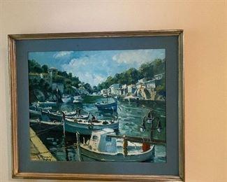 Ramon Ortega oil painting