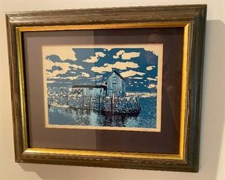 Woodcut by Shafer