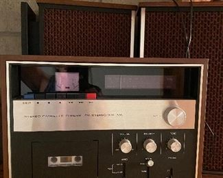 Vintage Sony cassette recorder