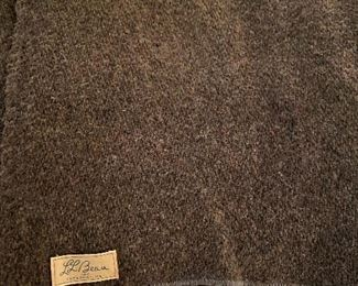 Vintage LL Bean blankets