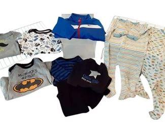 2. 69 Months Babies Clothing  NIKE, CALVIN KLEIN, CIRCO, GARANIMALS
