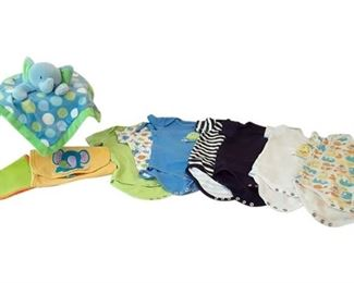 1. 912 Months Lovable Friends Onesie Collection