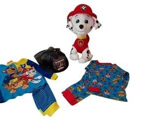 9. 2T Paw Patrol PJ Set Stuffed Paw Patrol Toy